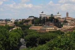 Landschaft von Rom stockfotografie