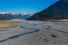 Landschaft von Südinsel von Neuseeland Stockfoto
