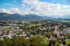Landschaft von Salzburg Lizenzfreie Stockfotos