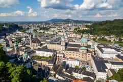Landschaft von Salzburg Stockbilder