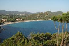 Landschaft von Sardinien lizenzfreie stockbilder