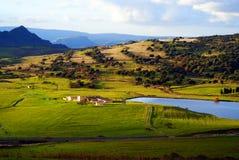 Landschaft von Sardinien Stockfotografie