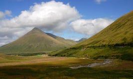 Landschaft von Schottland Stockfotos