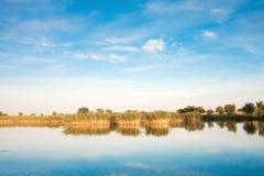 Landschaft von See Stockfotos