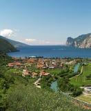 Landschaft von See Garda lizenzfreies stockfoto