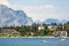 Landschaft von See Garda Lizenzfreie Stockfotos