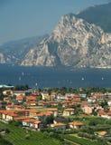 Landschaft von See Garda, Italien lizenzfreies stockfoto