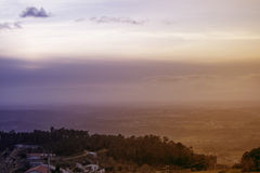 Landschaft von Serra da Estrela Stockbild