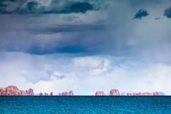 Landschaft von Siling Co Lizenzfreie Stockbilder