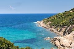 Landschaft von Skiathos lizenzfreie stockfotos