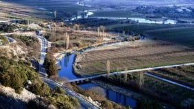 Landschaft von Stasevica, Kroatien Stockfotos