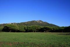 Landschaft von Tarifa, Spanien stockbild