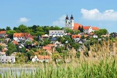 Landschaft von Tihany bei Plattensee Lizenzfreies Stockfoto