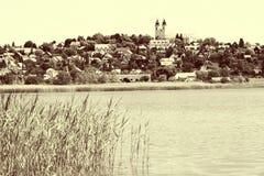 Landschaft von Tihany bei Plattensee, Ungarn Stockbilder