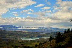 Landschaft von Torres Del Paine Lizenzfreie Stockfotos