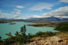 Landschaft von Torres Del Paine Lizenzfreies Stockfoto