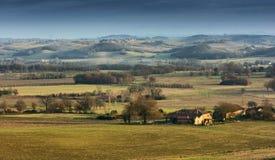 Landschaft von Toskana Lizenzfreie Stockbilder