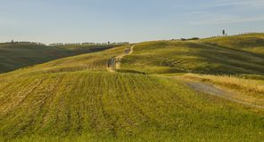 Landschaft von Toskana, Italien lizenzfreie stockfotografie
