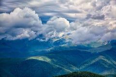 Landschaft von Transalpina Stockfotografie