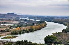 Landschaft von Tudela Stockbilder