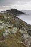 Landschaft von unteren tatra Bergen Stockbild