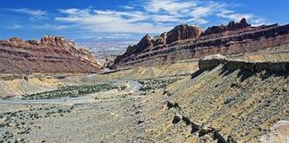 Landschaft von Utah, USA Lizenzfreies Stockfoto