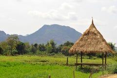 Landschaft von vang vieng Lizenzfreies Stockfoto
