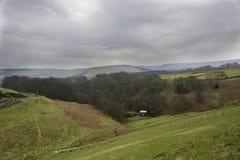 Landschaft von West Yorkshire im Frühjahr stockfoto