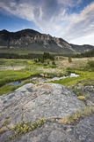 Landschaft von Wyoming Lizenzfreie Stockfotos