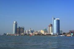Landschaft von Xiamen stockbild