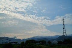 Landschaft von Yamaguchi-Stadt Lizenzfreie Stockfotografie