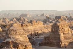 Landschaft von Yardang-Landform Lizenzfreies Stockbild