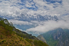 Landschaft von Yunnan China Lizenzfreie Stockfotos