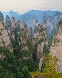Landschaft von Zhangjiajie Stockfoto