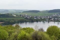 Landschaft Vulkan Eifel Lizenzfreies Stockfoto