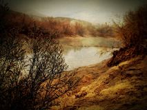 Landschaft, Wasser, szenisch, Lizenzfreie Stockfotografie