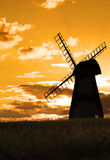Landschaft-Windmühle Lizenzfreie Stockfotografie