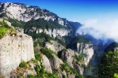 Landschaft Yandangshan China Stockfoto