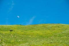 Landschaften der Berge stockfotos