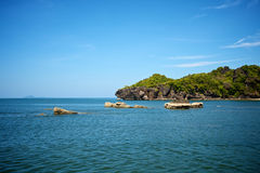 Landschaften des Adaman Meeres lizenzfreie stockfotografie