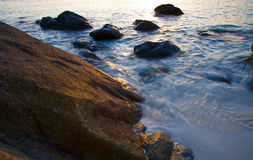Landschaften des Adaman Meeres Stockfotos