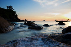Landschaften des Adaman Meeres lizenzfreies stockfoto