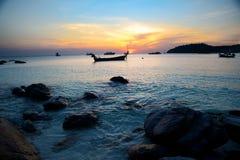 Landschaften des Adaman Meeres Lizenzfreie Stockbilder