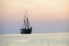 Landschaften des Adaman Meeres stockbild