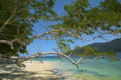 Landschaften des Adaman Meeres stockfotografie