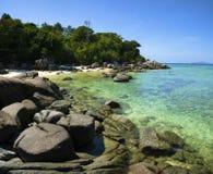Landschaften des Adaman Meeres Lizenzfreies Stockbild