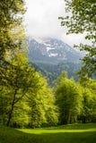 Landschaften im Park Linderhoff, Bayern, Deutschland Stockfotos