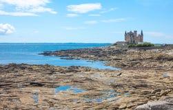 Landschaften und Architektur von Bretagne lizenzfreies stockbild