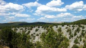 Landschaften und Berge Stockbild