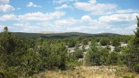 Landschaften und Berge Lizenzfreie Stockbilder